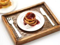 Great rendition of strawberry compote on pancakes