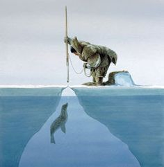Inuit's seal hunting
