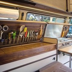 A place for everything....#literally ~ #VanCrush . . Repost from @cbarnacle #vanlife