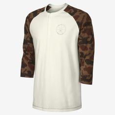 Nike x Poler Vibes Men's Henley Shirt