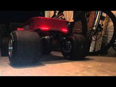 Custom rear L.E.D. Lighting on my custom ranger radio flyer project. - YouTube