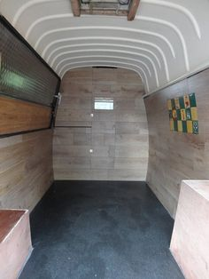 Interior Restoration, Renault Estafette, Vintage Van, DIY, Street Food, Taco Truck