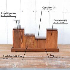 チーク・バスルームアクセサリーセットTF(直輸入,北欧家具,木製家具,アジアン家具,雑貨)