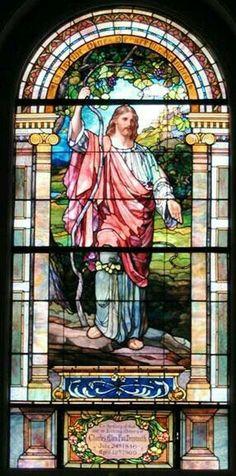 Jesus #StainedGlassChurch