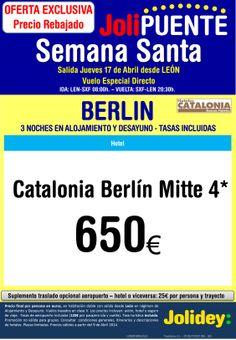 SINO CONOCES BERLIN, TE LO PONEMOS A LA PUERTA DE CASA.