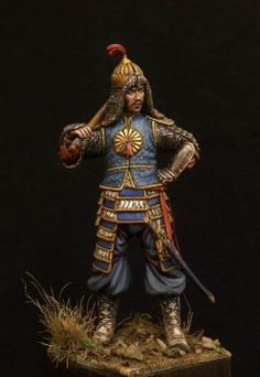 Completed Critique - Timurid guard 75mm scale model Toy solider. | planetFigure | Miniatures #ToySoldiers