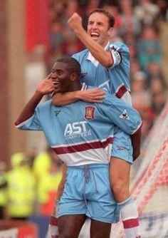 Ian Taylor and Gareth Southgate