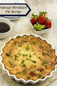 Sausage Breakfast Pie Recipe
