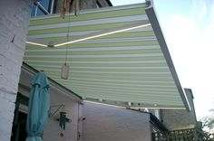Top quality bespoke Patio Awnings from Nationwide Home Innovations. Patio Awnings for homes and businesses manufactured from the finest materials. 1930s Semi, Garden Awning, Semi Detached, Blinds, Patio, Curtains, Outdoor Decor, Home Decor, Saints