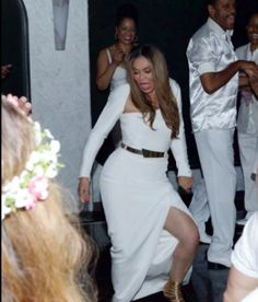 Pics From Tina Knowles-Lawson's Reception.  She deserves every bit of happiness she is receiving!