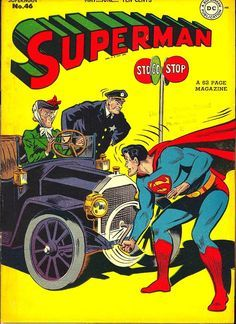 A cover gallery for the comic book Superman Old Superman, Superman Comic Books, Old Comic Books, Vintage Comic Books, Comic Book Covers, Comic Book Characters, Vintage Comics, Batman, Superman Stuff