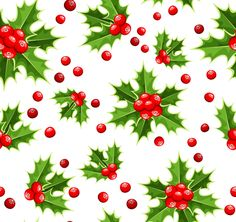 Cute Christmas seamless pattern vector 19 .wrapping paper . ..♥..Nims..♥