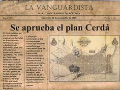 Barcelona 1860 aprovació del Plà Cerdà