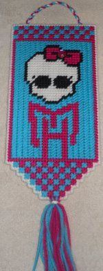 monster high valance plastic canvas pattern 2 00 more plastic canvases ...