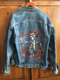 Hand-painted+Jacket+Grateful+Dead+Album+by+PeaceLoveSoulandCo