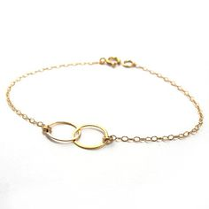 Two+Circle+Bracelet,+$25, now featured on Fab.
