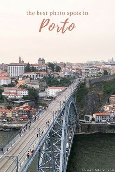 From churches clad in the traditional blue and white azulejos to sweeping views of the River Douro, these are the best photo spots in Porto, Portugal. Portugal Travel Guide, Europe Travel Guide, Spain Travel, Travel Destinations, Travel Guides, Portugal Trip, Visit Portugal, Spain And Portugal, European Destination