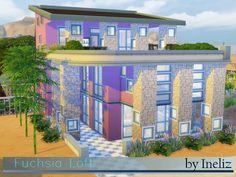 Fuchsia Loft by Ineliz at TSR • Sims 4 Updates