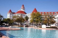 Disney's Grand Floridian Hote  Love this hotel-So worth the money to stay there!