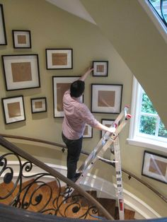 How To Hang A Gallery Photo Wall