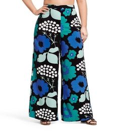 Marimekko for Target Women's Plus Size Palazzo Pant Kukkatori Plus Size 2X NWT #Marimekko #Palazzo