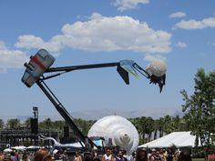 PK-107 Mantis  #2013coachella #coachellaart #poetickinetics #CoachellaMantis