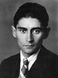 Franz Kafka (Praga, 3 de julho de 1883 — Klosterneuburg, 3 de junho de 1924)  foi um escritor tcheco, autor de romances e contos, considerado pelos críticos como um dos escritores mais influentes do século XX. A maior parte de sua obra, como A Metamorfose, O Processo e O Castelo, está repleta de temas e arquétipos de alienação e brutalidade física e psicológica, conflito entre pais e filhos, personagens com missões aterrorizantes, labirintos burocráticos e transformações místicas.