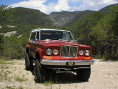 Old School Full size Jeep Cherokee