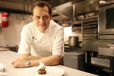 Interview with Chef Michael Laiskonis, in the Le Bernardin pastry kitchen.