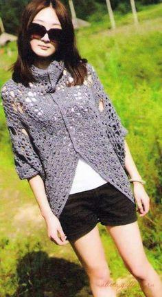 Gallery.ru / Фото #2 - Crochet Sweater China (продолжение) - Alleta