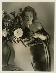 Virginia Bruce - Photo by George Hurrell from Downstairs (1932)