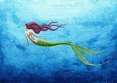 mermaid tattoo inspiration