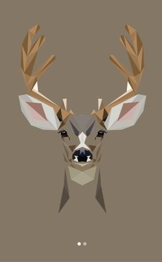 Animal Alphabet  - Mat Mabe D for Deer - Odocoileus hemionus All-terrain, antler-clad characters with the most beautiful eyes you ever did see.