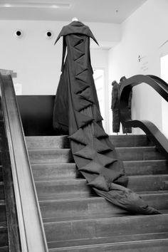 Yohji Yamamoto Designs | YOHJI YAMAMOTO EXHIBITION at Design Museum Holon, Israel Photo Saskia ...