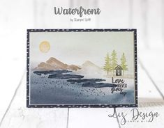 Waterfront stamp set #occasions  #stampinup