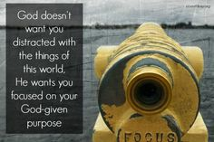 God has a plan for your life if you'll surrender to Him http://www.ccsouthbay.org/blog/distracted-future