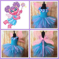 Abby Cadabby Costume Sesame Street Diy Party Ideas