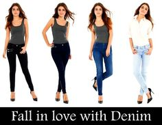 Jeans are essentials in every woman's wardrobe. But do you know which denim cuts and styles can help you achieve that 'oh-so-desirable' svelte frame? Check out here: http://bit.ly/1V69kPT #Denim #JeansStyle #Fashion