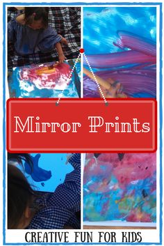 Mirror Prints - Creative Fun for Kids | Preschool Art Lesson | Welcome to Day 2 of Creativity and Art Series.