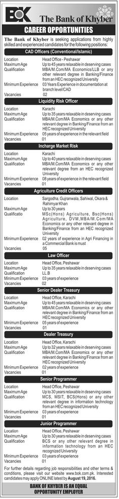 GBO Muslim Commercial Bank MCB Limited Jobs, General Banking - bank teller responsibilities