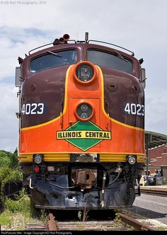 RailPictures.Net Photo: IC 4023 Iowa Pacific Holdings EMD E8(A) at Memphis, Tennessee by KD Rail Photography