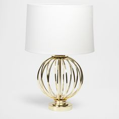 Zara Metal Ball Lamp