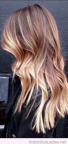 Lovely sombre hair inspiration