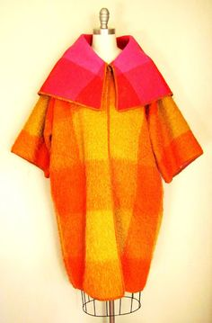 b141c0e5f6c Pintucks  Bonnie Cashin  Mohair Coat Pattern   How to Make It Mohair  Blanket