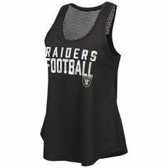 Oakland Raiders Touch By Alyssa Milano MVP Tank - Click to enlarge