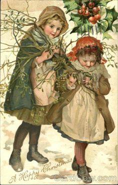 Children A Happy Christmas Series 269