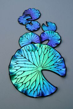 thereu0027s just something about dichroic glass laurel yourkowski lily pads dichroic glass glass wall artglass