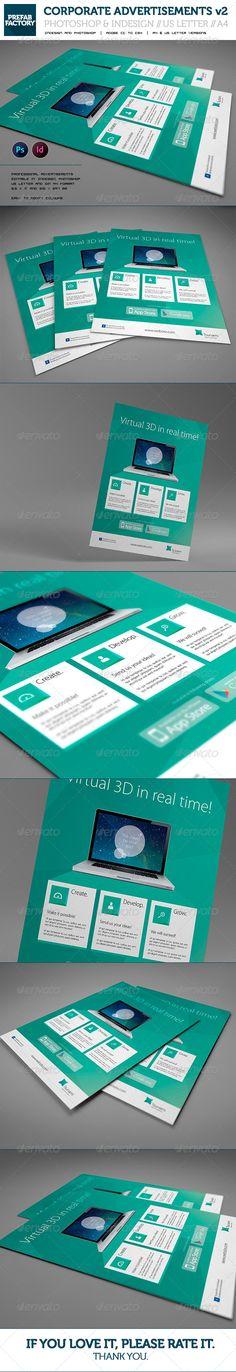 Corporate App Flyer / Advertisement / Version 2