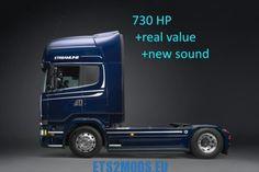 Scania R & S730 engine factory settings sound v1.1 - ETS2MODS.EU - Euro Truck Simulator 2 Mods