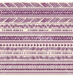 Tribal vintage ethnic pattern seamless vector - by transia on VectorStock®